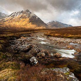 River Coupall, Schotland van Ton Drijfhamer