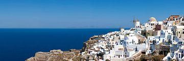 Oia, Santorini, Cycladen, Griekenland van Markus Lange