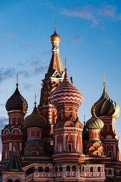 La cathédrale Basilius à Moscou sur Kris Christiaens