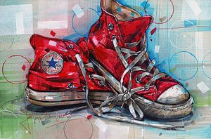Converse All Stars-Gemälde