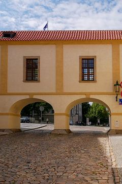 Prag - Innenstadtpassage von Wout van den Berg