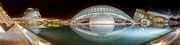 Valencia Stadt der Künste und Wissenschaften von Ko Hoogesteger