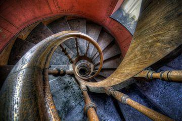 Urbex Treppe zum Himmel von Henny Reumerman