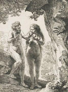 Adam et Eve sur