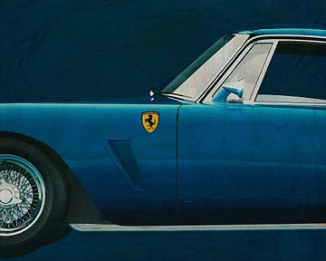 Ferrari 250 GT SWB Berlinetta 1957 zijde