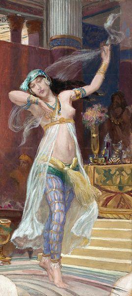 Rodolfo Amoedo, Jüdischer Tanz - 1913 von Atelier Liesjes