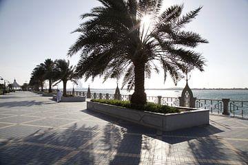 Abu Dhabi Corniche van Stefanie Hoekstra