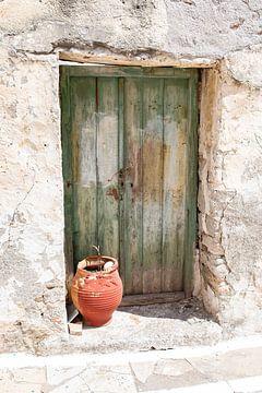 Kleine Griekse deur van Kitty Stevens