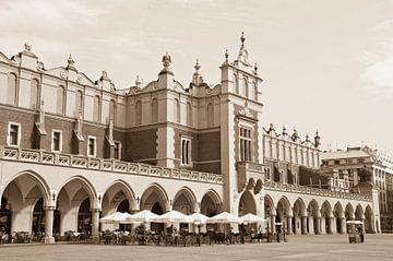 De Grote Markt in Krakau van Jeroen Knippenberg