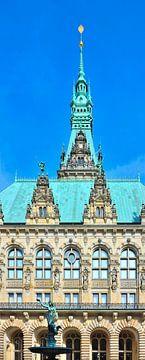 Hamburger Rathaus von Gisela Scheffbuch