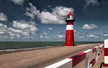 Westkapelle low lighthouse, Zeeland sur Ellen Driesse