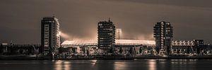 Feyenoord stadion 35 (Sepia)