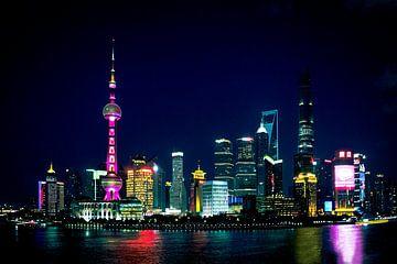 Shanghai skyline von Edzard Boonen