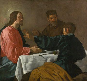 Das Abendmahl in Emmaus, Diego Velázquez