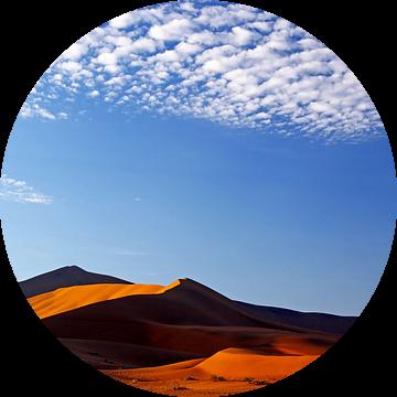 Clouds over Namib-Desert, Namibia van W. Woyke