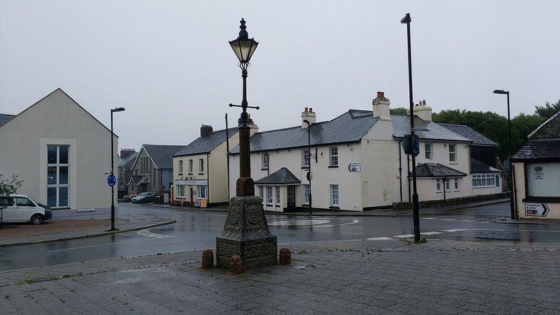 Een regenachtig straatbeeld in Engeland sur Wilbert Van Veldhuizen