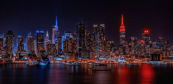 Le ciel de Manhattan
