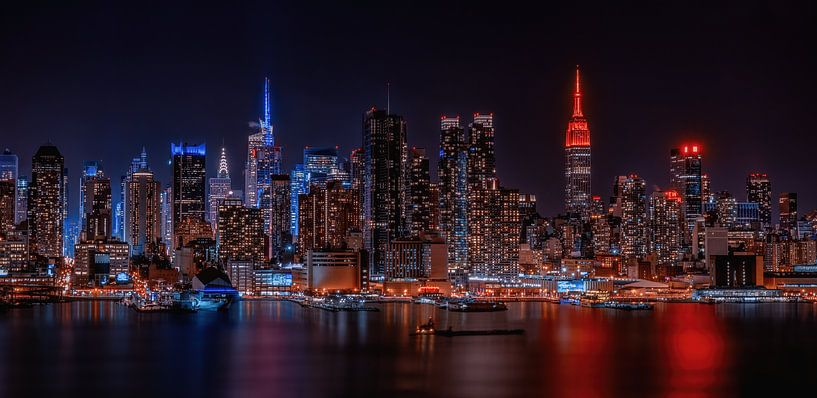 Le ciel de Manhattan sur Reinier Snijders