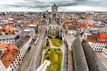 St. Nicholas Church, Gent, Belgium van