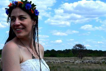 Bruid op de heide von Ima Rhebok