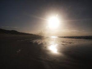In de verte, Zandvoort.