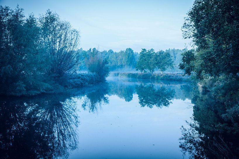 Twiske met water en mist - 2 van Jaap Mulder