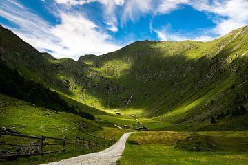 Talschluss im Altfasstal bei Meransen in Südtirol von Reiner Würz / RWFotoArt