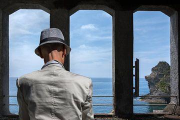 Man met hoed van Kok and Kok