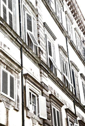 Lucca Italië Huisgevel