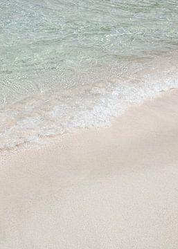 Tropisch Wit Strand van Henrike Schenk
