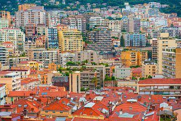 Monaco stadsgezicht. van