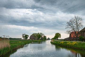 Landschap de Linge van Nancy van Verseveld