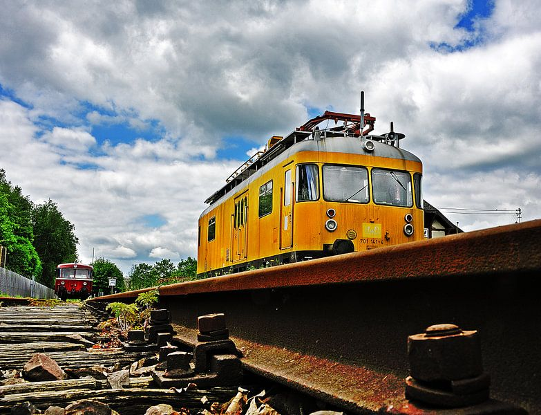 Treinen van Harrie Muis