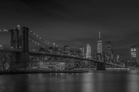 Manhattan by Night van Rene Ladenius