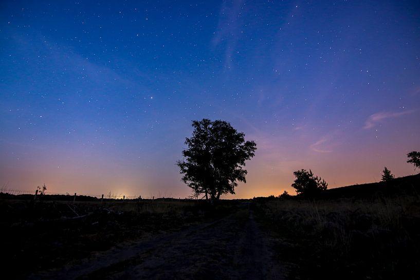 Nacht in wellerlooi van Mark Lenoire