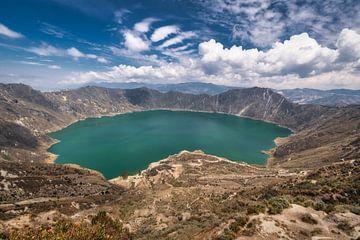 Quilotoa Lake van