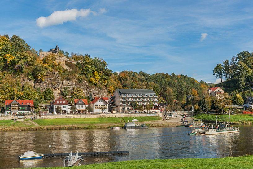 health resort Rathen, Saxony van Gunter Kirsch