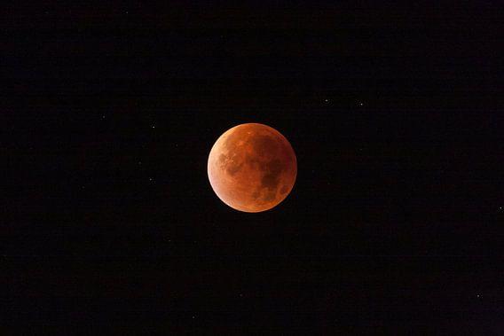 Rode supermaan maansverduistering