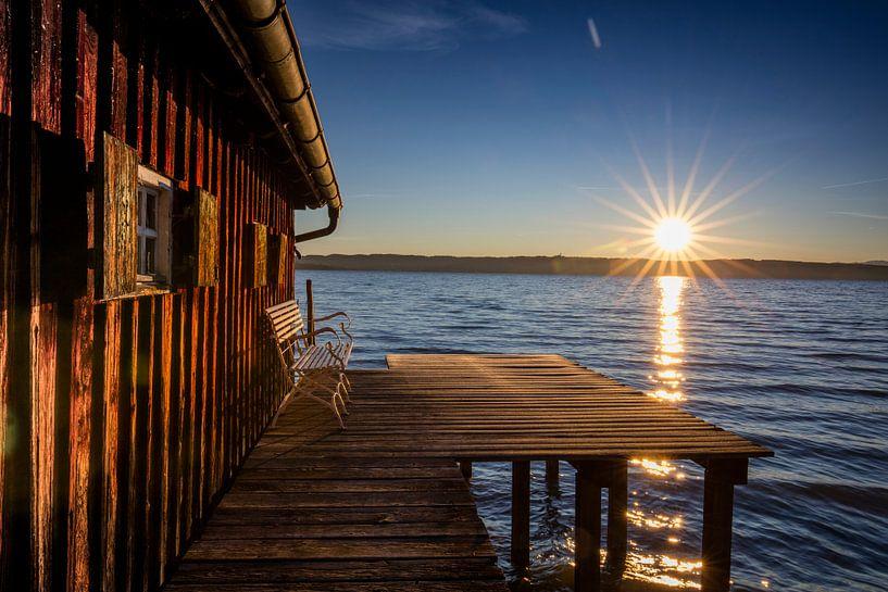 Ammersee Sonnenaufgang von Andreas Müller