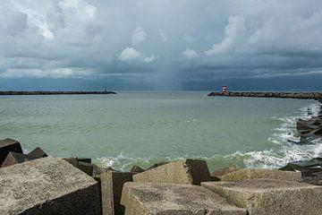Der Hafen von Scheveningen von Marian Sintemaartensdijk