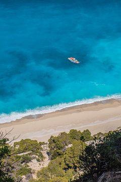 Strandmütze Lefkas Griechenland von Bianca Kramer