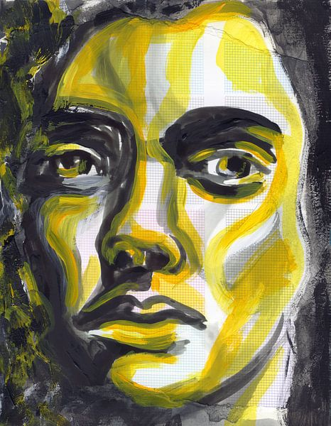 Yellow Moon von ART Eva Maria