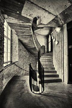 Beton architectuur in Berlijn von Dennis Morshuis