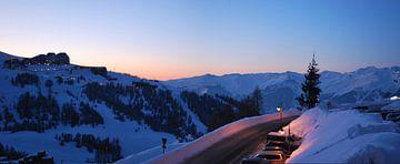 La Plagne - Savoie - Frankrijk van Maurits Simons