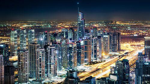 Jumeirah Lake Towers van Martijn Kort
