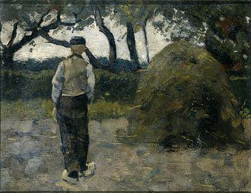Bauer im Heuhaufen (1889), Richard Nicolaüs Roland Holst