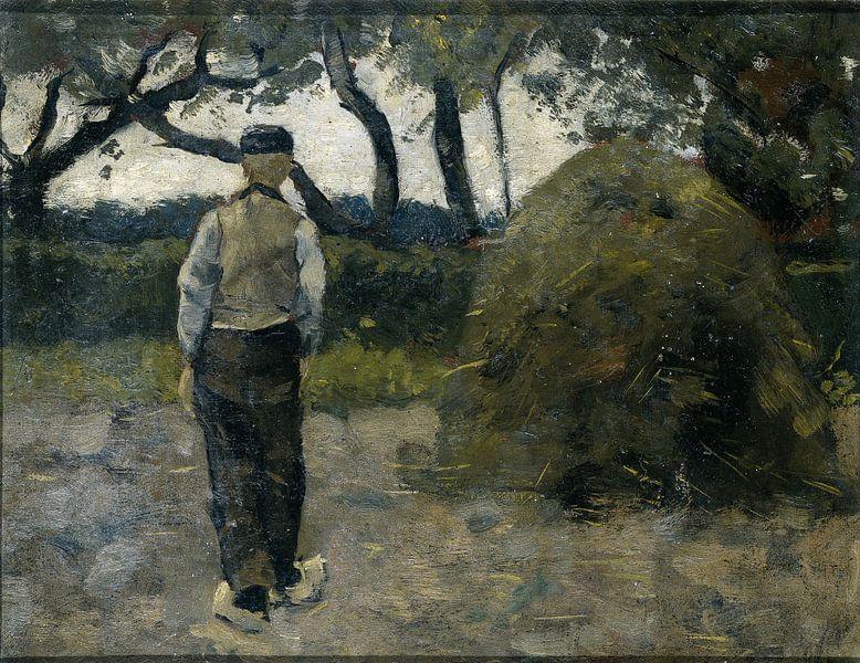 Bauer im Heuhaufen (1889), Richard Nicolaüs Roland Holst von Marieke de Koning