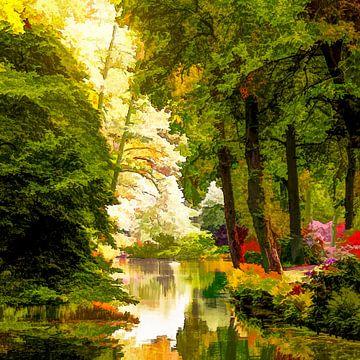 Forest (Botanischer Garten in Bremen) von Andreas Wemmje