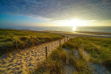 Strand, zee en zon van Dirk van Egmond