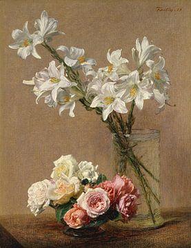 Rozen en Lelies, Henri Fantin